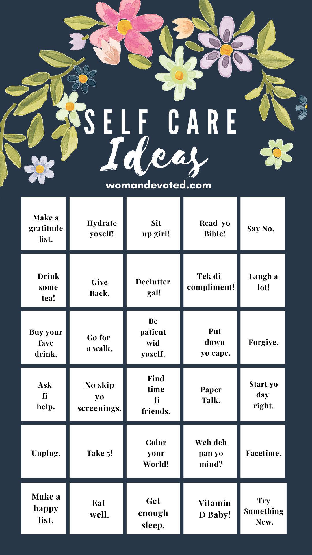 30 Tips for Self Care